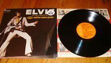 ELVIS AS RECORDED AT MADISON SQUARE GARDEN ORANGE LABEL DYNAFLEX LP - 1972