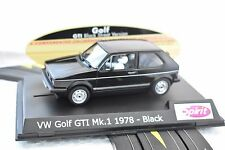 SPIRIT # 0701502 1/32 SLOT CAR GOLF GTI  MK.1 1978 BLACK STREET VERSION