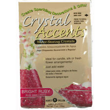 Crystal Accents Bright Ruby Water Storing Gel - Makes approximately 8.5 Pints