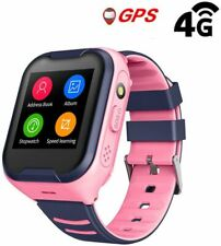 Laxcido 4G Kids Gps Waterproof Video Call Camera SOS Alarm Pedometer Smart Watch