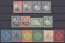 BERMUDA 1938-53 MNH SG #110-115 (PERF. 12), #116-121 (PERF. 14), KING GEORGE VI