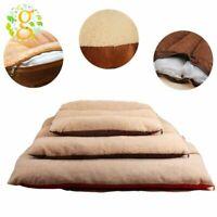 Warm Large Pet Bed Mattress Dog Cushion Pillow Mat Washable Soft Large Blanket