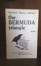 Adi-Kent Thomas Jeffrey's The Bermuda Triangle true first edition 1973 New Hope