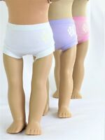 "3 pair doll underwear Fits 18"" American Girl Doll Clothes"