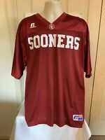 Oklahoma Sooners Team Issue Men's Large Russell Athletic Football Jersey
