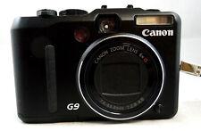CANON POWERSHOT G9 12.2MP DIGITAL CAMERA BUNDLE ~ Excellent condition