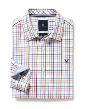 Crew Clothing Cotton Check Slim Casual Shirts & Tops for Men