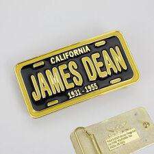 Rockabilly James Dean California Black Plate Belt Buckle Gürtel Gürtelschnalle