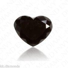 1.50ct natural black Diamond Heart Shape Loose Diamond, Diamond Wedding ring 00