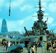 MUSEUM SHIP USS Alabama BB-60 Battleship Parkway Under Siege Vintage Postcard