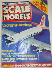 Scale Models Magazine Vacform Hastings Map Of France BMW August 1982 040915R