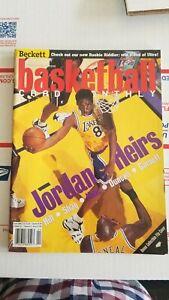 BECKETT BASKETBALL CARD MONTHLY APRIL 1999 Jordan Heirs (Kobe, Duncan, Shaq)