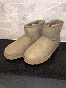 Women's UGG Classic Mini II Burnt Olive Boots- size 7- #1016222