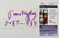 Timothy Leary Signed Autographed 3x5 Card JSA Certified