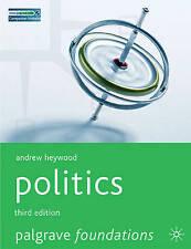 Politics by Andrew Heywood (Paperback, 2007)