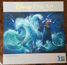 New listing 2015 D23 Expo Exclusive Disney Fine Art Promo Card Mickey Mouse Creates Magic