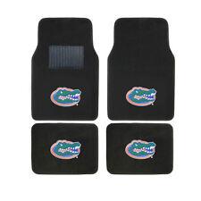 New 4pcs NCAA Florida Gators Car Truck Front Rear Carpet Floor Mats Set