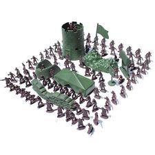 4 cm Soldat Stadt Tor Turm Sandsack Militär Modell für Jungen Geschenke WH