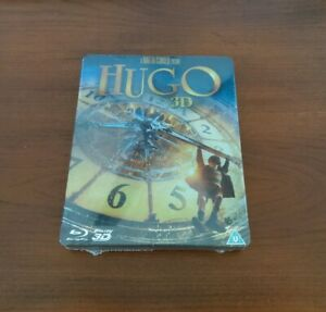 HUGO STEELBOOK 3D ZAVVI Exclusive Christmas Scorsese Region B Blu-ray OOP NEW
