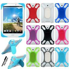 """For 7"""" 8"""" 10"""" Acer Iconia Tab - Silicone Soft Back Stand Shockproof Cover Case"""