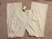 NWT $128 Arden B Wide Leg Flowy Cream Pants 4 S