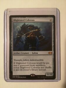 BLIGHTSTEEL COLOSSUS  Double Masters MTG Mythic #235 English Non-Foil