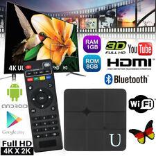 Android TV BOX S905W 8GB KD18.0 Quad Core WIFI Bluetooth Media Player