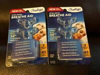 6 SLEEP RIGHT Nose Nasal Breathe Aid Stop Snoring Breath Breathing Free Ship