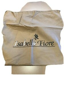 "New Isabella Fiore Cloth Drawstring Bag 19"" X 19"""