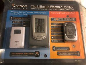 Preços Baixos Em Oregon Scientific Estações Meteorológicas Desktop Ebay