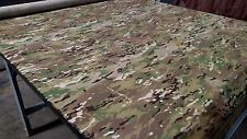 """MULTI CAM NYCO RIPSTOP 6.25 oz FABRIC 65""""W CAMO FABRIC CAMOUFLAGE MULTICAM BY YD"""