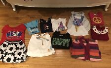 Lot Of 10 Girl 8 Yrs Justice Gymboree Children Place Gap Shirts Sweaters Skirts