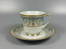 NORITAKE POLONAISE 2045 COFFEE CUP AND SAUCER (PERFECT)