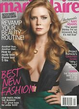 Marie Claire magazine Amy Adams Best fashion Project Runway Diet tips Hair Skin