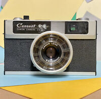 CANON CANONET 28 Compact 35mm FILM CAMERA W/ 40mm F2.8 Lens Lomo Retro Working