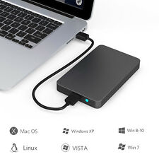 USB3.0 External Hard Drives Case Storage Portable Desktop Mobile Hard Disk Box
