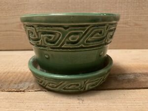 Mccoy Green Planter Usa 5""
