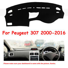 Car Dashmat For Peugeot 307 2000-2016 Dashboard Mat Carpet Dash Board Cover