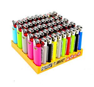 BIC Maxi oder Mini Feuerzeug Original, Reibradfeuerzeug, Einwegfeuerzeug Solid