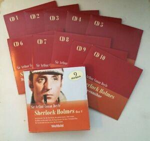 10 CD BOX SHERLOCK HOLMES V MARITIM Weltbild VGH Hörspiel Sir Arthur Conan Doyle