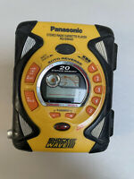 Panasonic Shock Wave Stereo Radio Cassette Player RQ-SW44V EC, Yellow TESTED