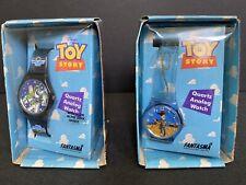 DISNEY TOY STORY Woody & Buzz Lightyear Quartz Analog Watch from Fantasma/Hasbro