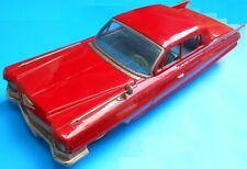 """Rare Vintage Cadillac Tin Friction Toy Bandai Japan 17"""""""