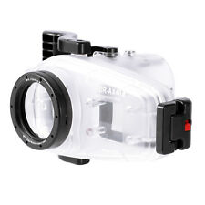 40M Underwater Waterproof Diving Case Cover For Sony FDR-AX40 4K Camera Video
