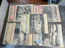 November 2nd 9th 16th 23rd 30th 1968 DRAG NEWS Magazine  vol#14 -#20 21 22 23 24