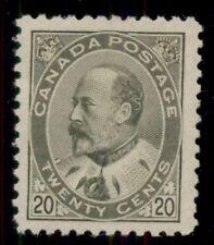 CANADA #94 20¢ olive green, og, LH, VF, Miller certificate, Scott $800.00