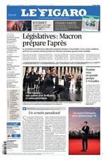 Le Figaro 29.5.17 N°22643*MACRON l'après législatives*POUTINE à VERSAILLES*TRUMP