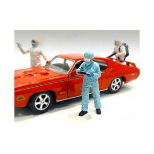 Hazmat Crew Figurine IV for 1/24 Scale Models by American Diorama 76370