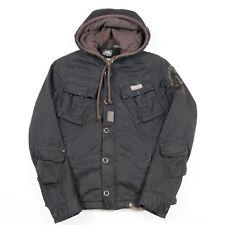 Vintage G-STAR Hooded Sherpa Fleece Lined Jacket | Women's M | Coat Hoodie Hood