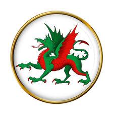 Heraldic Dragon Lapel Pin Badge